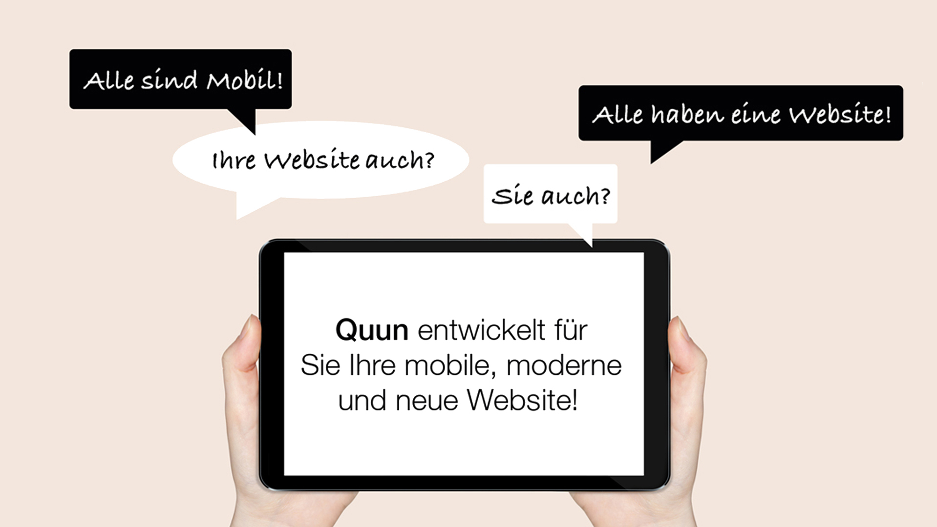 designer web smartphone website
