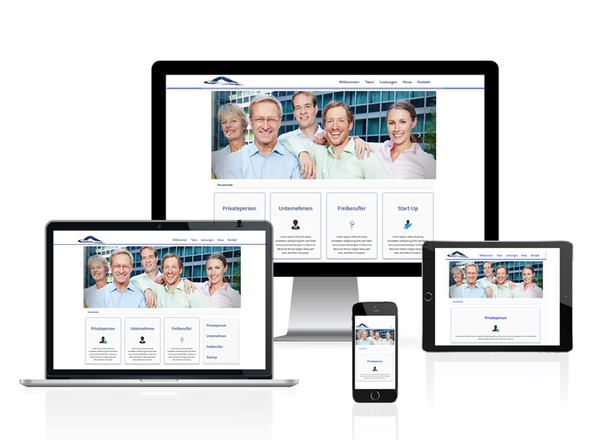 Responsive Website Hamburg
